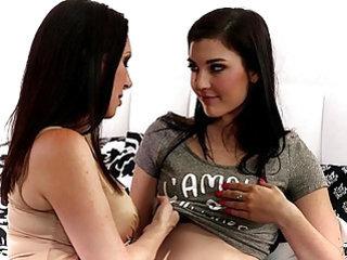 RayVeness and Jenna Reid at Mommys Girl