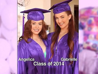 Girls gone wild surprise graduation party for teens ends up with lesbian sex
