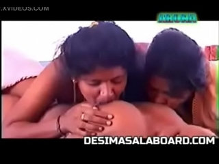 Indian lesbian threesome